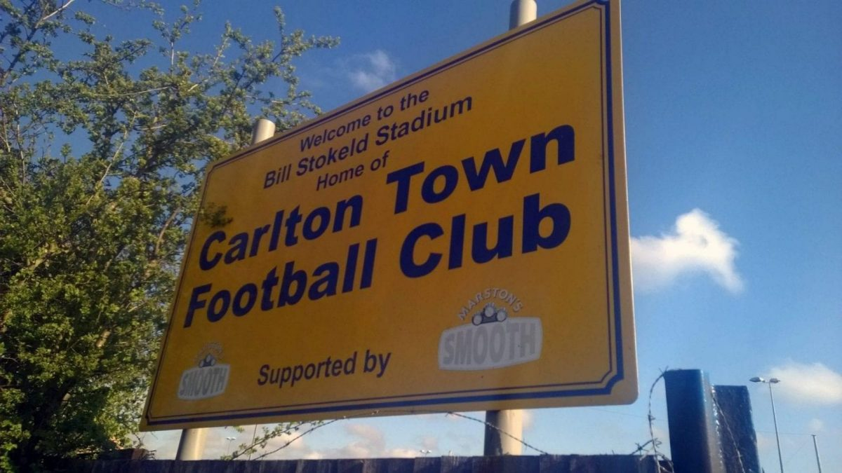 Carlton Town mourn loss of talented youngster