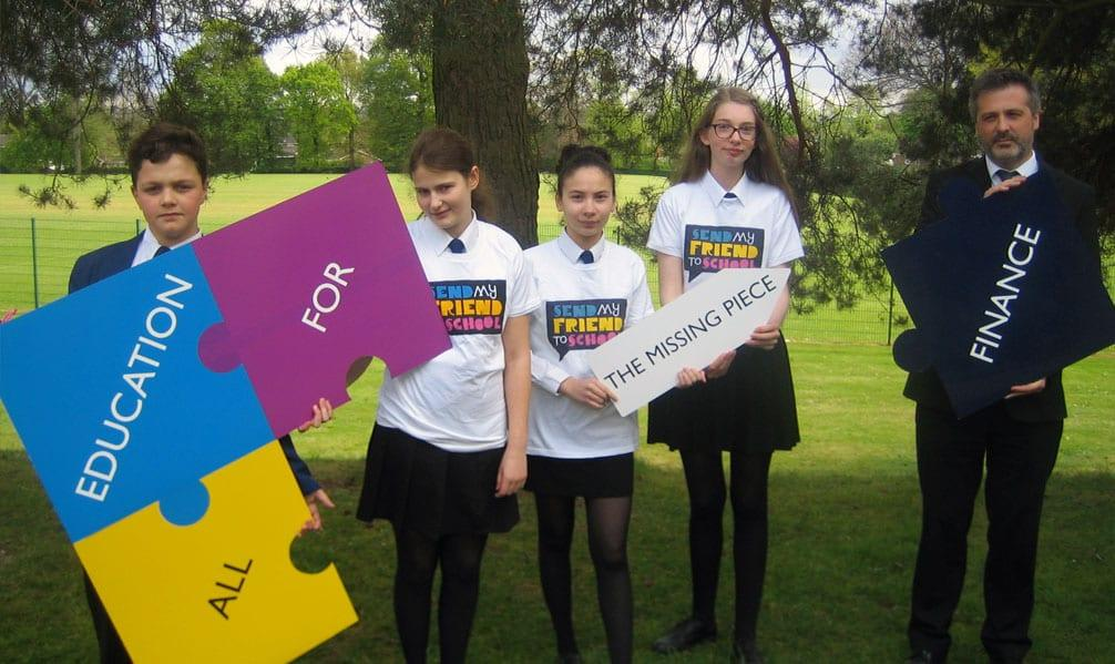 Carlton school students say their piece for global education campaign