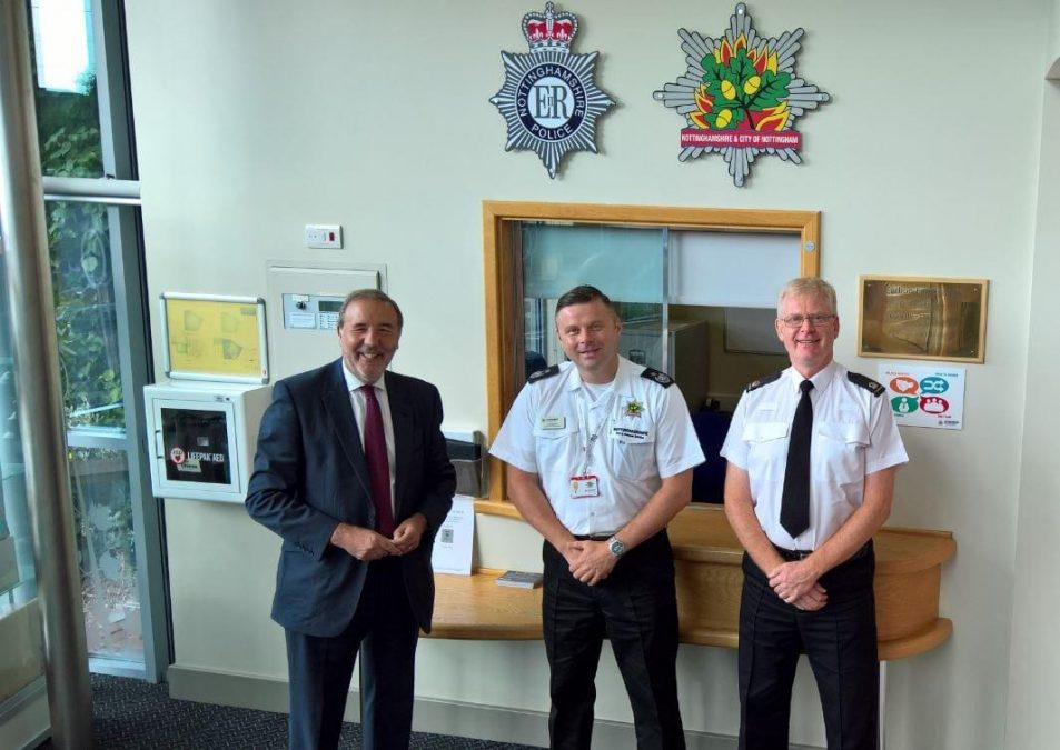 Police make move to Carlton Fire Station