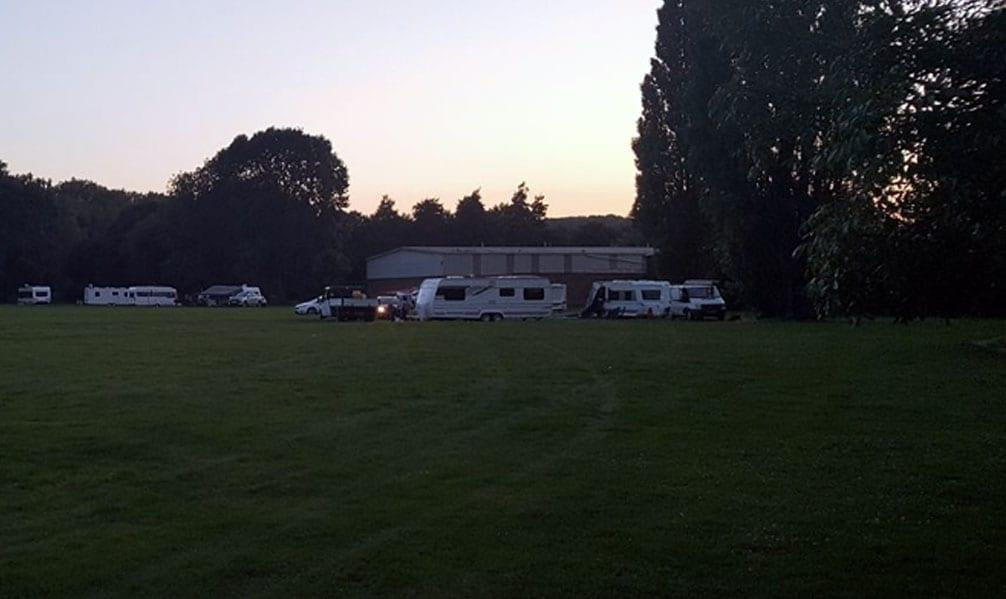 Council serves travellers at Colwick site with legal notice