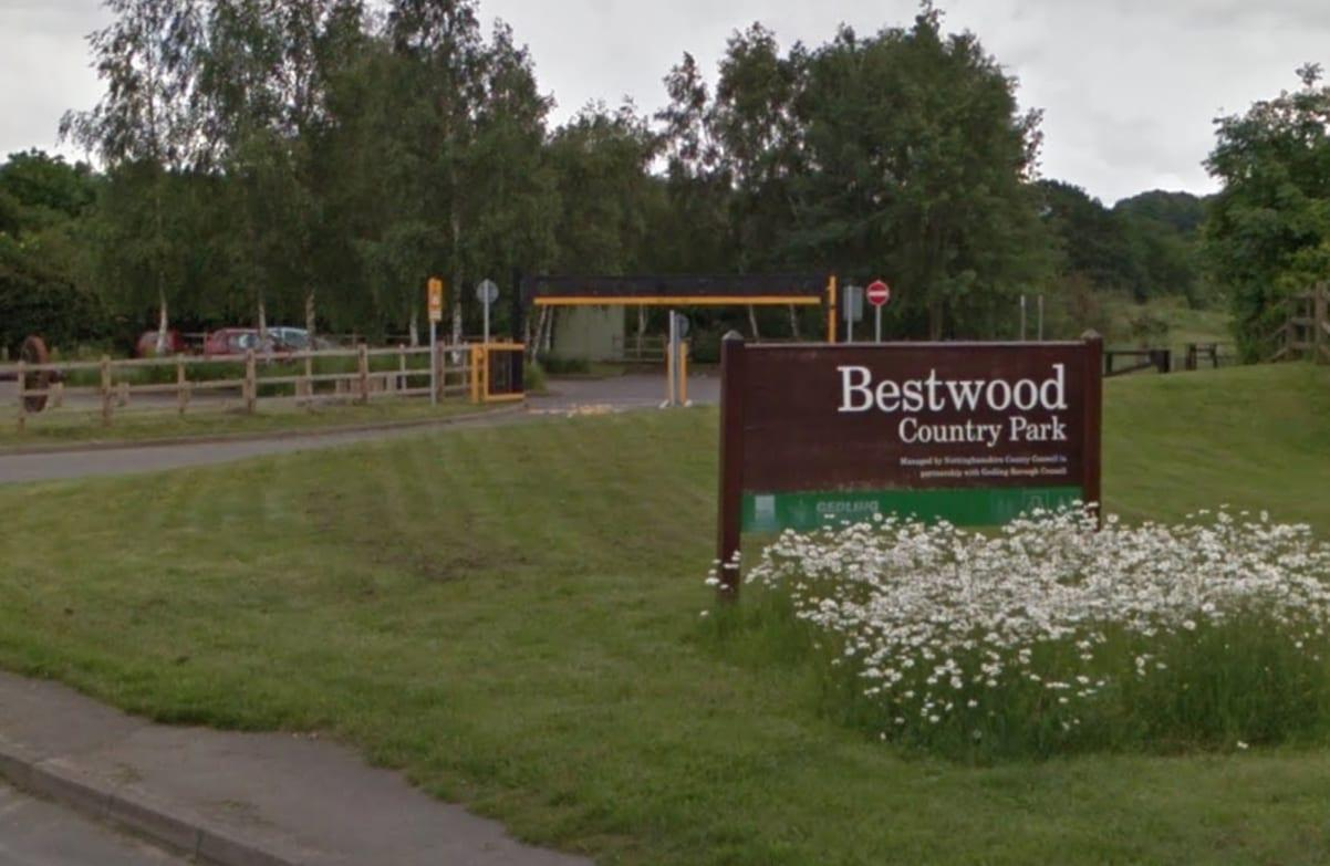 Firefighters battle blaze at Bestwood Country Park