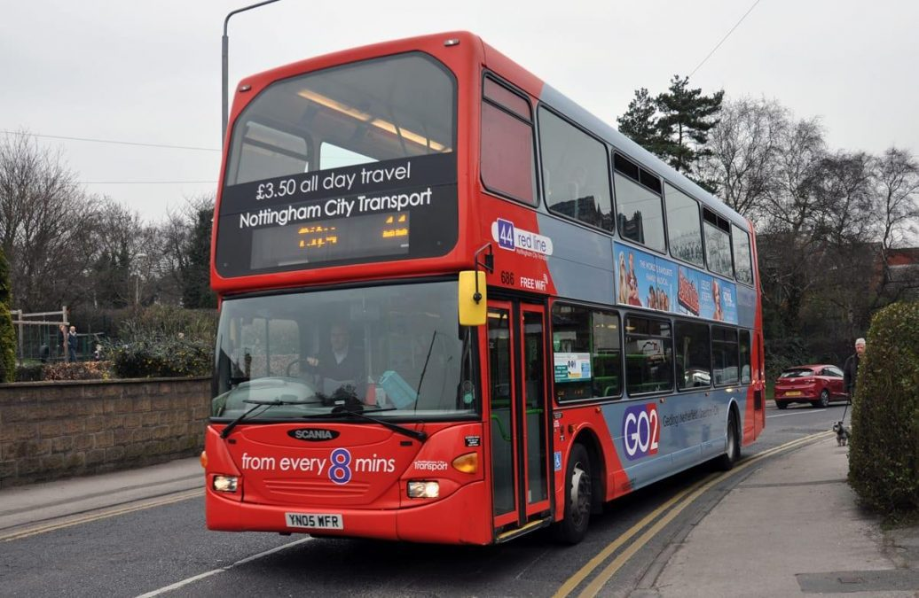 Some Nottingham City Transport fares will increase on services in Gedling borough later this month