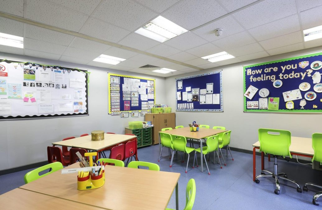 Primary school in Carlton reopens after makeover