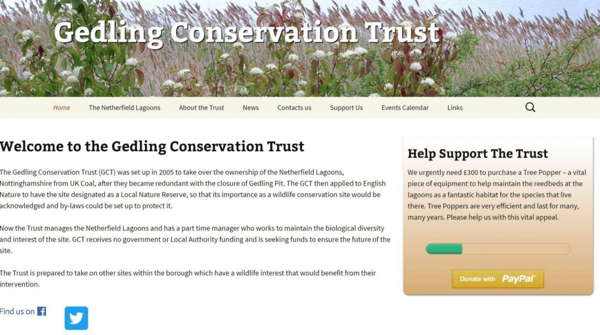 New-look website for Netherfield nature reserve