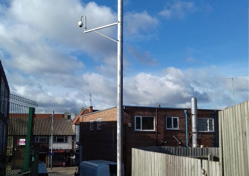 Residents in Arnold say new CCTV camera is helping to make crime hotspot safer