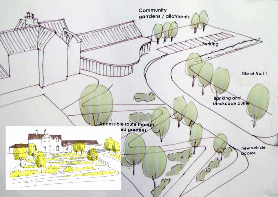 Community groups come together and create plan to turn former Gedling station building into community hub and youth centre