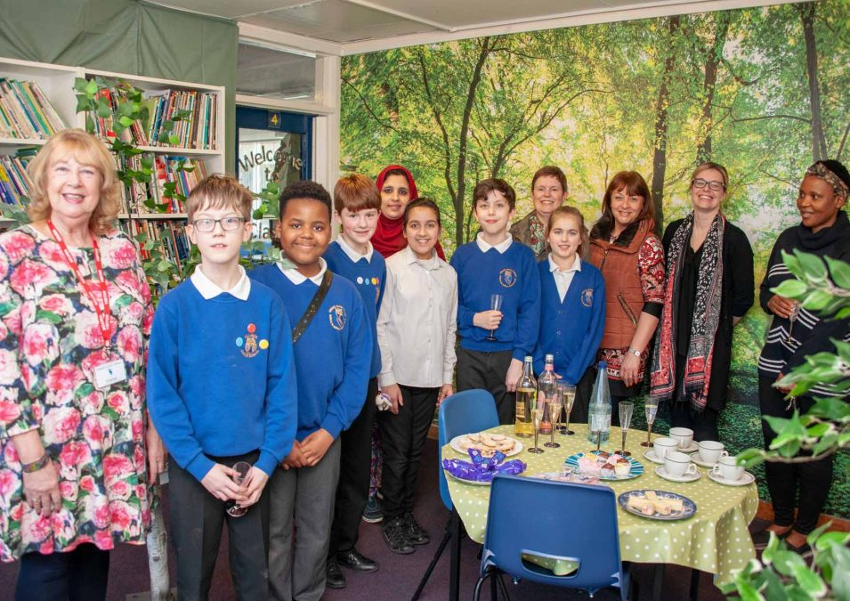 New chapter for Killisick school library after revamp