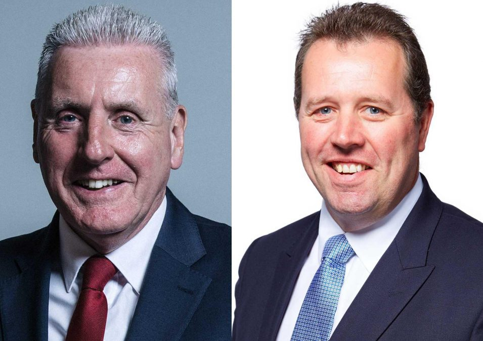 MPs Vernon Coaker and Mark Spencer react to news of extra police funding to tackle knife crime