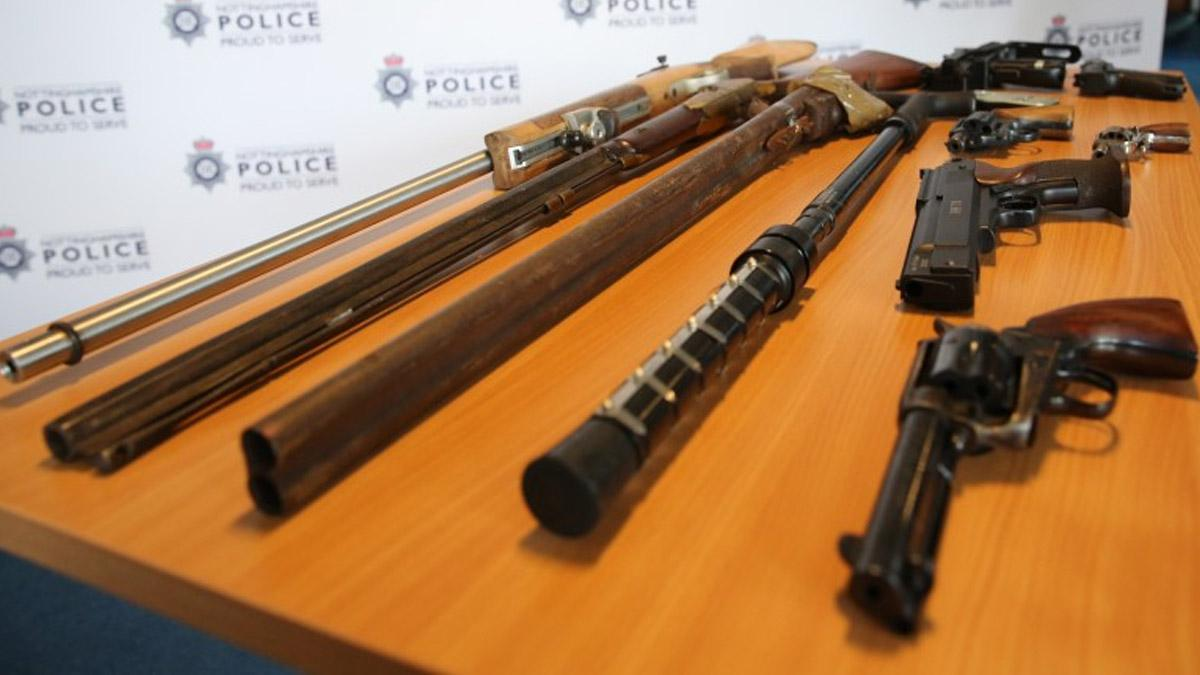 Public can hand in Illegal guns to police without fear of prosecution in two-week surrender