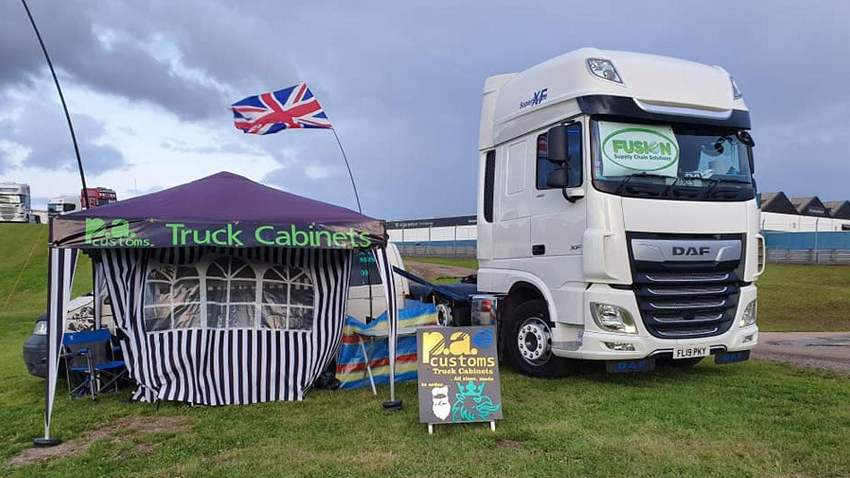 Colwick haulage firm send truck on tour for charity
