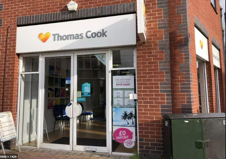 Thomas Cook store in Arnold