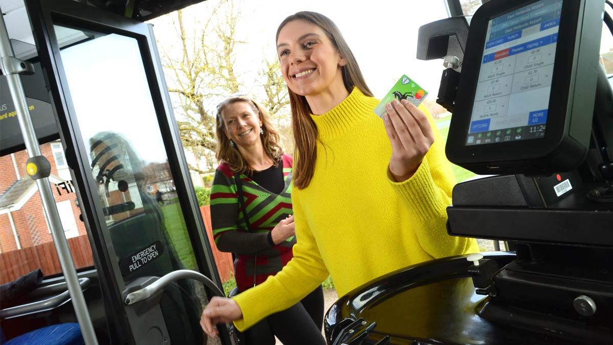 These bus services to Arnold, Calverton and Ravenshead  will accept contactless payments from Sunday