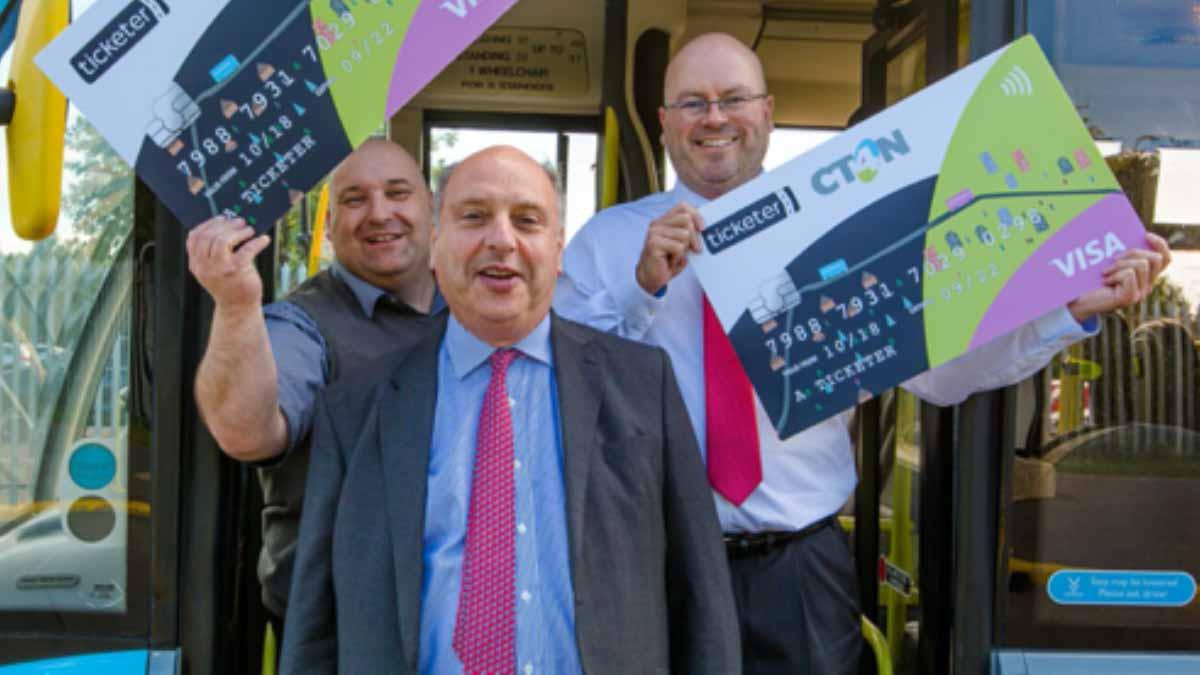 You can now pay using contactless on CT4N's shopper services in Gedling borough