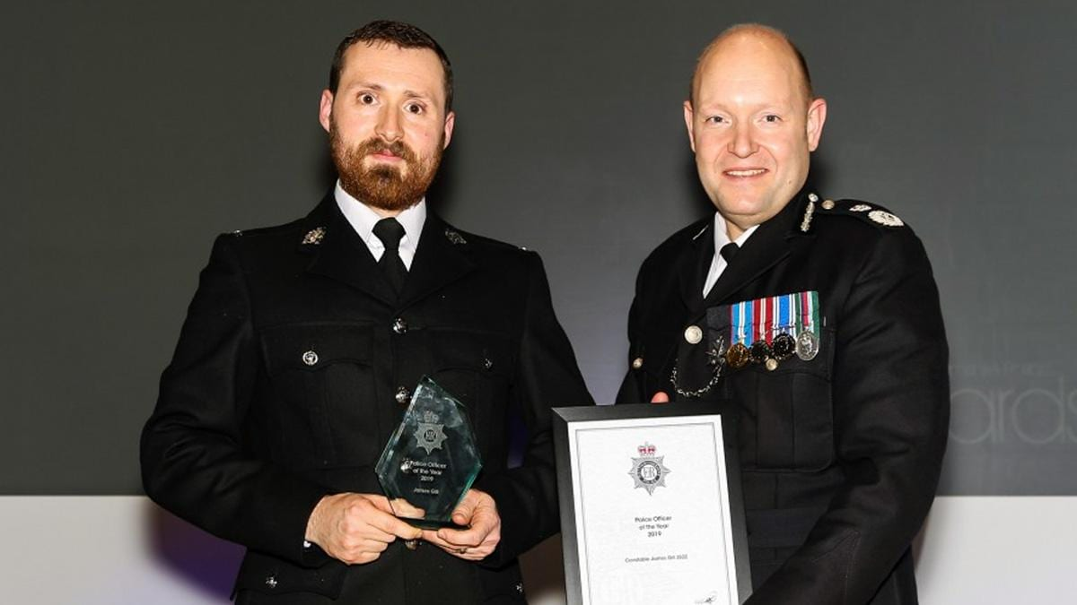 Police officer who starred in Bodycam Squad recognised for 'outstanding' work in Gedling borough