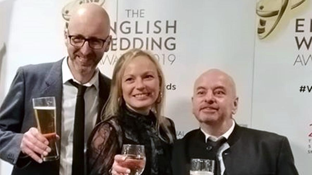 Colwick caterers wins prestigious prize at English Wedding Awards