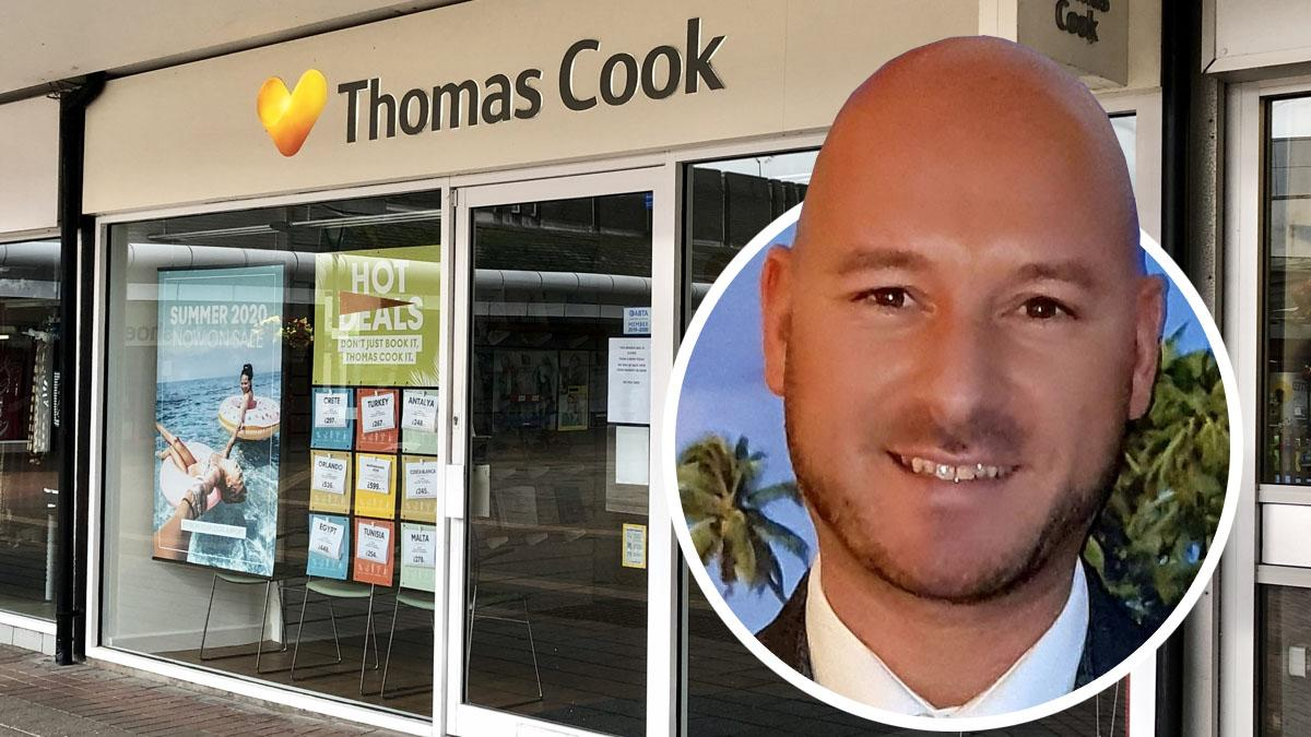 Michael Shanahan worked at Thomas Cook