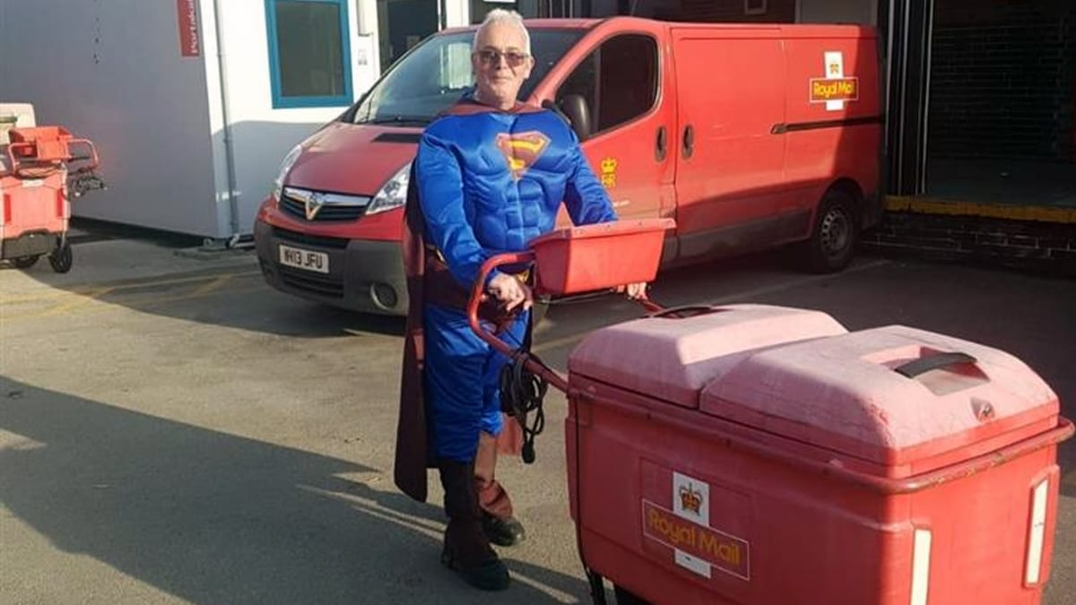 Postmen in Carlton will deliver in fancy dress this weekend to cheer people up during lockdown