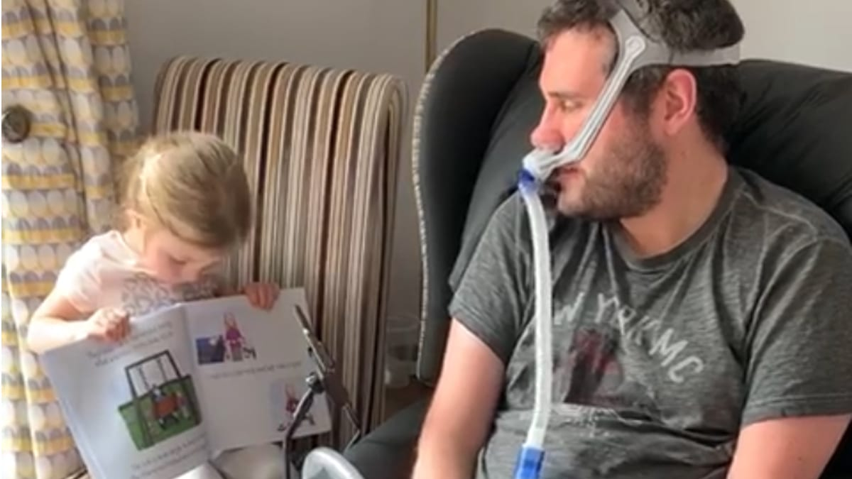 'It's nothing to be afraid of': New children's book featuring Mapperley hospice patient aims to educate youngsters about disability