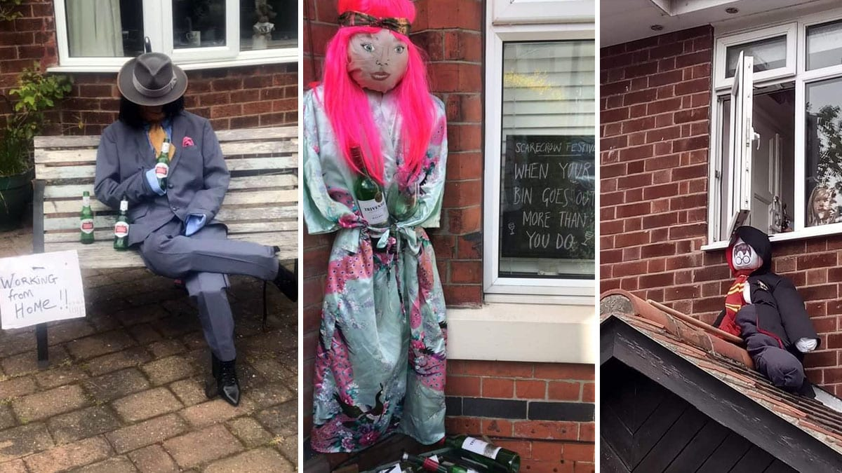 Mapperley gets creative in lockdown scarecrow competition