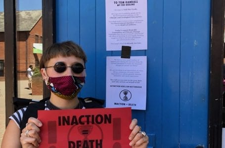 Extinction protest Gedling