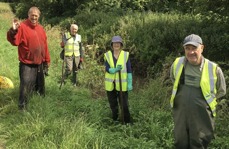 Balsam bashers continue mission to fight off 'evil' invaders at Ouse Dyke