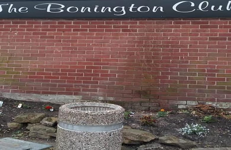 Blooming cheek! Flowers stolen from outside revamped social club in Arnold