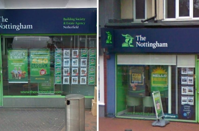 The Nottingham building society branches in Carlton Hill and Netherfield earmarked for merger