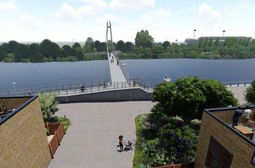 New riverside walkway planned from Colwick Park to footbridge across Trent